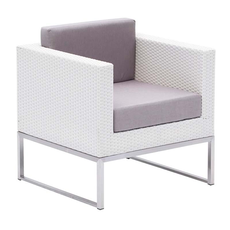 Sof individual milo sillas mesas hosteler a for Sofa exterior plegable